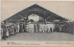 CPA Porto NOVO Afrique Noire Colonies Françaises Non Circulé Gouverneur - Dahomey
