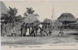 CPA Porto NOVO Afrique Noire Colonies Françaises Non Circulé Village De Pêcheurs - Dahomey