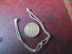 Chaîne De Montre - Mtal Argent -voir Photos - Necklaces/Chains