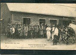 CPA - GUERRE EUROPEENNE 1914 - COETQUIDAN - La Journée Terminée, Les Prisonniers Allemands Vont Rejoindre Le Campement