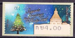 Israel - ATM Mi.Nr. 82 - Postfrisch MNH - Weihnachten Christmas Noel - Franking Labels