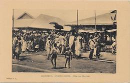 CPA Porto NOVO Afrique Noire Colonies Françaises Non Circulé Marché - Dahomey