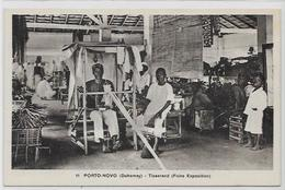 CPA Porto NOVO Afrique Noire Colonies Françaises Non Circulé Métier Tisserand - Dahomey