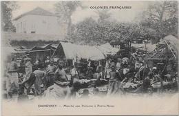CPA Porto NOVO Afrique Noire Colonies Françaises Non Circulé Marché Aux Poissons - Dahomey