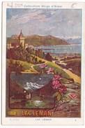 Image Publicité Collection Hugo D'Alési LAC LEMAN - Vieux Papiers