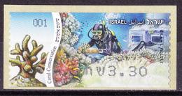 Israel - ATM Mi.Nr. 84 - Postfrisch MNH - Tiere Animals Korallen Corals - Franking Labels