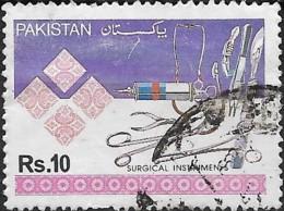 PAKISTAN 1992 Industries - 10r Surgical Instruments  FU