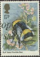 GB Yv. N°1173 - Insectes - 17p Bourdon - Oblitéré - Gebraucht