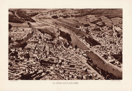 SEINE ET MARNE, LA FERTE-SOUS-JOUARRE, La Marne, Planche Densité = 200g, Format 20 X 29 Cm, (Michaud) - Géographie