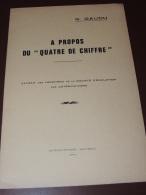 """G. GAUDU - A Propos Du """" Quatre De Chiffre """" - Saint-Brieuc 1971 - Histoire"""
