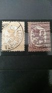 RARE SET LOT 20+40 SUOMI FINLAND LION WATERMARK SEAL LEPPAVIRTA 1930 SUPERB USED  STAMP TIMBRE