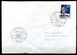 "Germany 1987 Sonderbeleg/Cover ""Indianer,Karl-May"" M.Mi.Nr.1314 U.SST""Bamberg-Karl-May,Der Schöffer Des Winnetou""1 Beleg"
