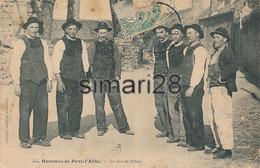 PONT L'ABBE - N° 561 - HOMMES DE PONT L'ABBE - LE JEU DE PALAIS - Pont L'Abbe
