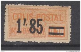 France Colis Postaux N° 42 (.) 1 F. 85 Sur 10 C. Orange, Neuf Sans Gomme Sinon TB - Colis Postaux