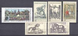Czechoslowakia 1969 Mi 1869-1874 MNH HORSES - Nuevos