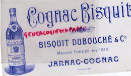 16 - JARNAC - COGNAC - BEAU BUVARD COGNAC BISQUIT DUBOUCHE - MAISON FONDEE EN 1819 - Food