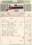 16 - BAIGNES SAINTE RADEGONDE- BELLE FACTURE ANDRE MICHAUD- PEINTURE DROGUERIE- 1939 - France