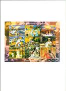 TCHAD - Tableaux- L'IMPRESSIONISME EN ESPAGNE,neuf,XXL