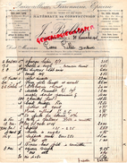 16 - BAIGNES SAINTE RADEGONDE- FACTURE J. BELLUE- QUINCAILLERIE-FERRONNERIE-EPICERIE- 1933 - France