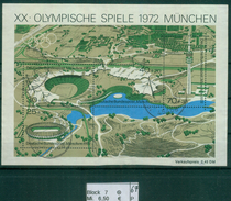 Berlin 1972 / MiNr. Block 7  PLZ 45468  Aus Dem Verkehr   O / Used  (p67) - [5] Berlin