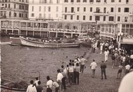 ANZIO - ROMA - FOTOGRAFIA DEL 1958 CON IMBARCAZIONE - BARCA CON DIDASCALIA SUL RETRO - Lieux