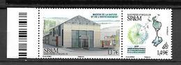 SP & M 2017 - Yv N° 1176 & 1177 ** - Maison De La Nature Et De L'Environnement (Mi N° 1269/70) - St.Pierre & Miquelon