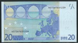 € 20  H SLOVENIA  G015  TRICHET  UNC - EURO