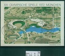 Berlin 1972 / MiNr. Block 7  Tüssling  Vollgummi   O / Used  (p70) - [5] Berlín