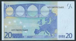 € 20  H SLOVENIA  G010  TRICHET  UNC - EURO