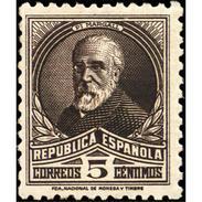 ES655STV-LTV***655STAN.Spain.Esgane.PERSONAJES ILUSTRES.PY Y MARGALL. 1931 (Ed 655**) - Nuevos