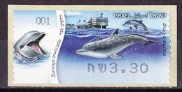 Israel - ATM Mi.Nr. 85 - Postfrisch MNH - Tiere Animals Delphin Dolphin