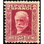 ES658STV-LTV***658STAN.Spain.Esgane.PERSONAJES ILUSTRES.NICOLAS SALMERON. 1931 (Ed 658**) - Nuevos