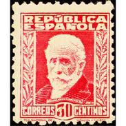 ES659STV-LTV***659STAN.Spain.Esgane.PERSONAJES ILUSTRES.NICOLAS SALMERON. 1931 (Ed 659**) - Nuevos