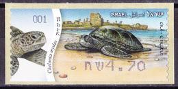 Israel - ATM Mi.Nr. 86 - Postfrisch MNH - Tiere Animals Schildkröten Turtles - Franking Labels