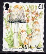 GB ISLE OF MAN IOM - 1995 FUNGI £1 STAMP EX SG MS667 FINE MNH ** - Isle Of Man