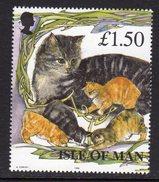 GB ISLE OF MAN IOM - 1996 MANX CATS £1.50 STAMP EX SG MS683 FINE MNH ** - Isle Of Man