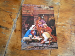 3D Postcards PK 360 The Nativity 1977 - Heilige Plaatsen