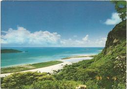 T2546 Seychelles - Mahe - View Of Reclamation / Viaggiata 1997 - Seychelles