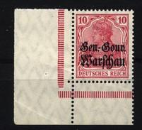 Deutsche Post In Polen,10b,xx,etwas Bügig,erhöht Gep. - Besetzungen 1914-18