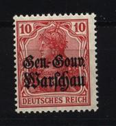 Deutsche Post In Polen,10c,xx,gep. - Besetzungen 1914-18
