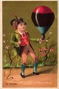 6 Cards C1900 Serie  Toys Jouets Toupie Router Volant Sabot Jeu De Grâce Saut De Corde Jumping Rope Ballon Litho - Kaufmanns- Und Zigarettenbilder