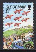 GB ISLE OF MAN IOM - 1996 TT FESTIVAL RED ARROWS £1 STAMP EX SG MS707 FINE MNH ** - Isle Of Man
