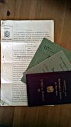 Testament 1926 - Timbre,  Freie Evangelische Gemeinden 1936/37 Timbre - Livret De Famille 1892-1912 ,Realgymnasium Basel - Documents Historiques