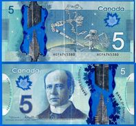 Canada 5 Dollars 2013 Polymere Prefixe HCF Que Prix + Port Polymer Bitcoin Skrill Paypal OK! - Canada