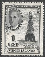 British Virgin Islands. 1952 KGVI. 1c MNH. SG 136 - British Virgin Islands