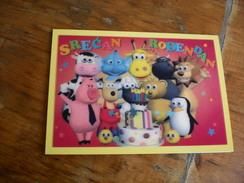 3D Postcards Birthday - Geburtstag