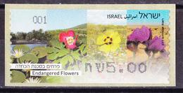 Israel - ATM Mi.Nr. 89 - Postfrisch MNH - Blumen Flowers - Franking Labels