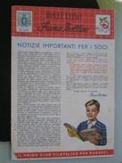 Z5 ITALIA FILATELIA RIVISTA FRANCO BOLLINO CLUB X RAGAZZI BOLLETTINO - 1958 N. 4 - Italiane (dal 1941)