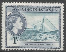 British Virgin Islands. 1956-62 QEII. 1c MH. SG 150 - British Virgin Islands
