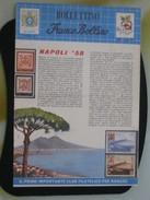 Z5 ITALIA FILATELIA RIVISTA FRANCO BOLLINO CLUB X RAGAZZI BOLLETTINO - 1958 N. 6 NAPOLI '58 EXPO BRUXELLES CAMOENS - Italiane (dal 1941)